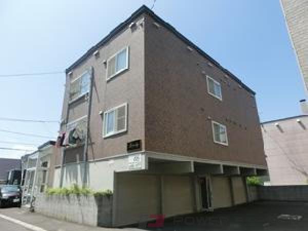 札幌市清田区真栄2条2丁目0賃貸アパート外観写真