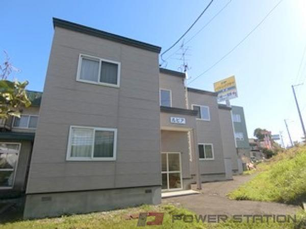 札幌市清田区平岡1条2丁目0賃貸アパート外観写真