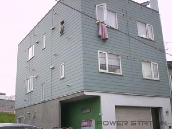 札幌市清田区平岡1条2丁目1賃貸アパート外観写真