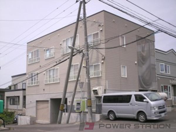 札幌市清田区平岡1条3丁目0賃貸アパート外観写真