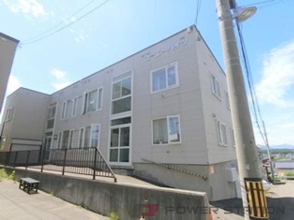 札幌市清田区真栄1条2丁目0賃貸アパート外観写真