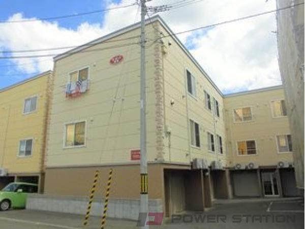 札幌市清田区真栄1条2丁目1賃貸アパート外観写真