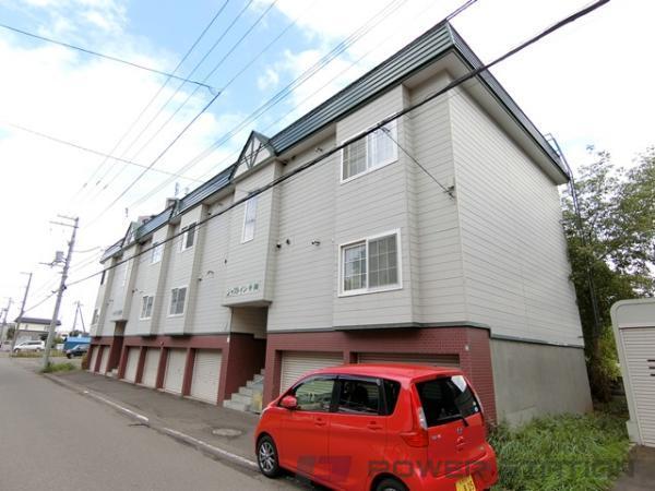 札幌市清田区平岡2条4丁目1賃貸アパート外観写真