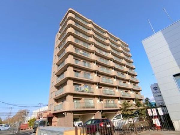 札幌市清田区平岡1条5丁目0賃貸マンション外観写真