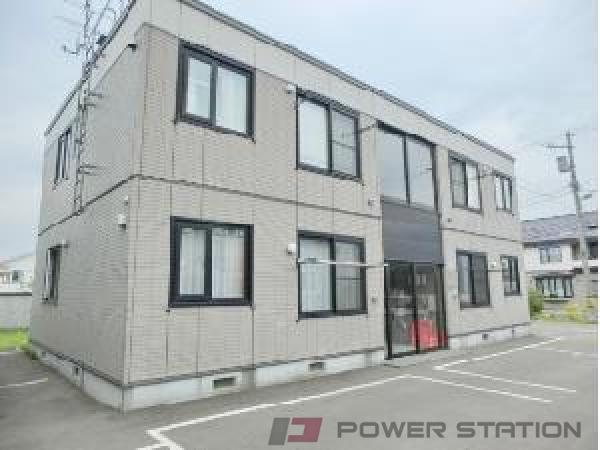 札幌市清田区里塚3条1丁目0賃貸アパート外観写真