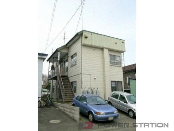 南郷18丁目2DKアパート外観