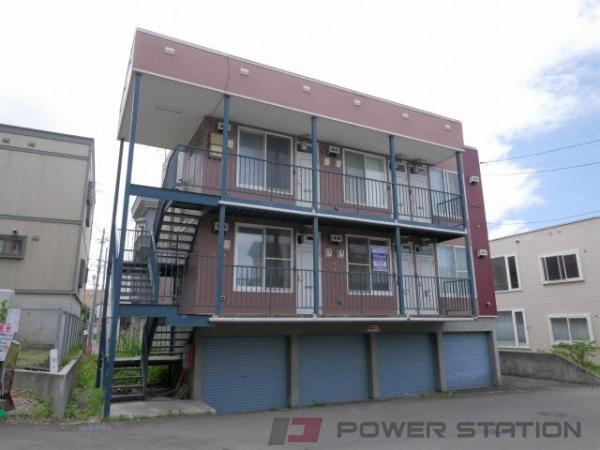 大谷地1LDKアパート外観
