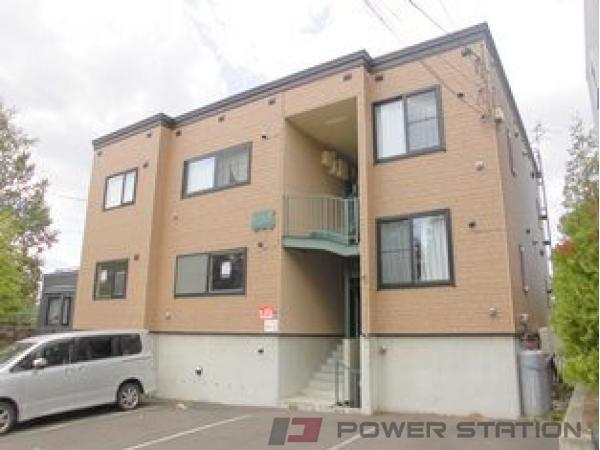 札幌市清田区美しが丘3条2丁目0賃貸アパート外観写真