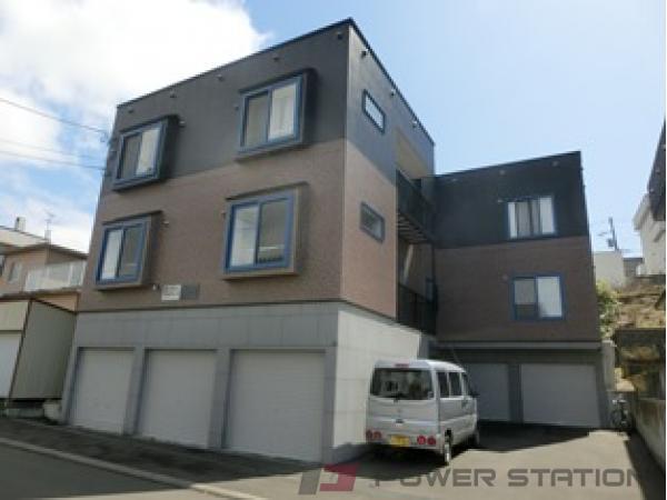 札幌市清田区真栄2条2丁目1賃貸アパート外観写真
