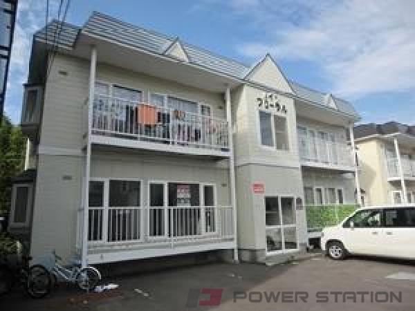 札幌市清田区里塚1条2丁目0賃貸アパート外観写真