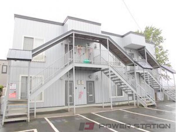 札幌市清田区里塚3条4丁目1賃貸アパート外観写真