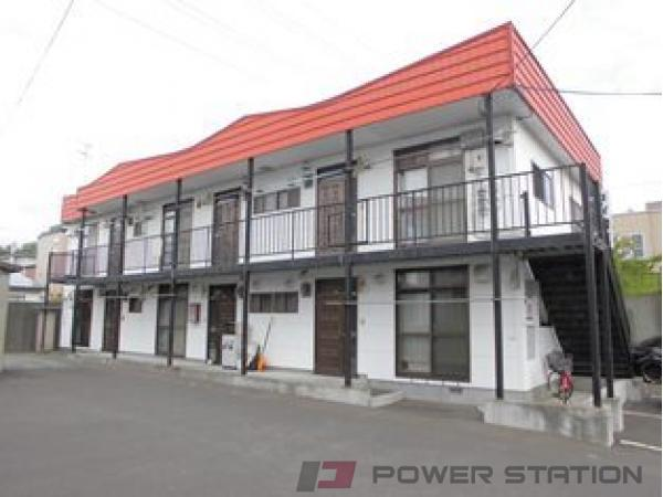 札幌市清田区里塚3条2丁目0賃貸アパート外観写真
