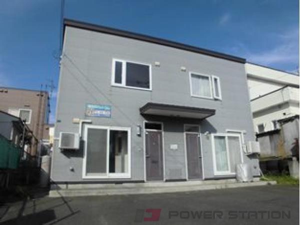 札幌市清田区里塚3条3丁目0賃貸アパート外観写真