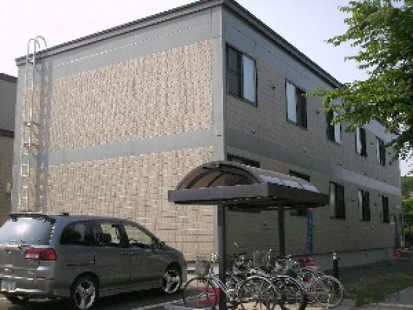 札幌市清田区真栄5条1丁目0賃貸アパート外観写真