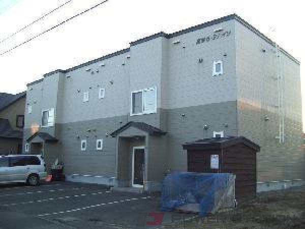 札幌市清田区真栄5条2丁目0賃貸アパート外観写真
