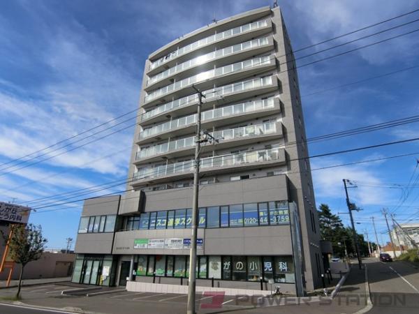 札幌市清田区美しが丘3条2丁目0賃貸マンション外観写真