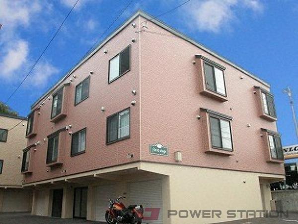 札幌市清田区美しが丘3条3丁目0賃貸アパート外観写真