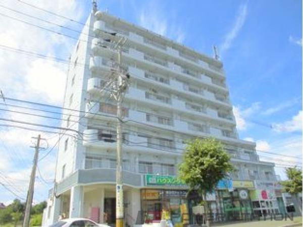 札幌市清田区美しが丘1条6丁目1賃貸マンション外観写真