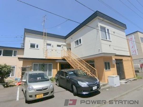 札幌市清田区美しが丘1条8丁目0賃貸アパート外観写真