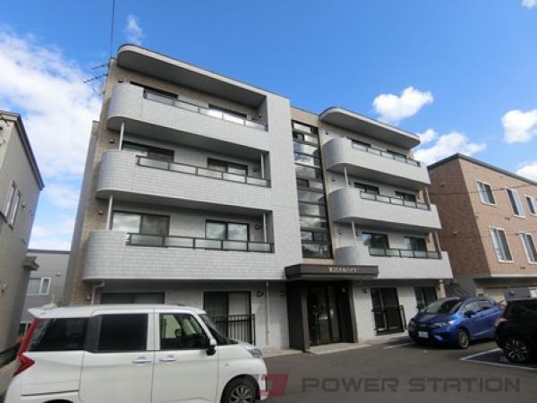札幌市清田区美しが丘2条8丁目0賃貸マンション外観写真