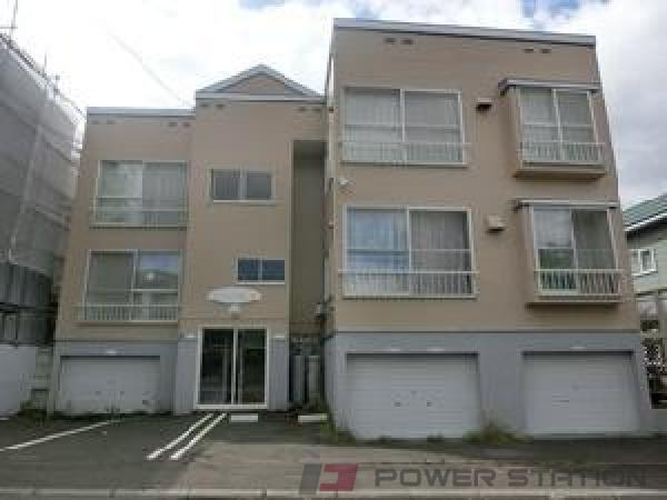 札幌市清田区美しが丘3条7丁目0賃貸アパート外観写真