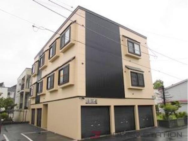 札幌市清田区美しが丘2条8丁目1賃貸アパート外観写真