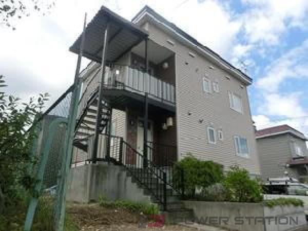 札幌市清田区美しが丘4条7丁目0賃貸アパート外観写真