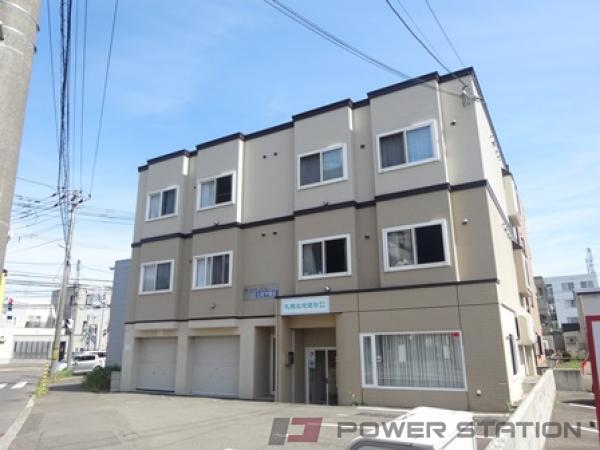 札幌市清田区ペット可アパート 1DK
