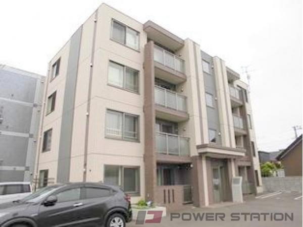 札幌市清田区北野7条3丁目1賃貸マンション外観写真