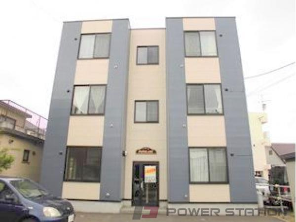 札幌市清田区真栄2条1丁目0賃貸マンション外観写真