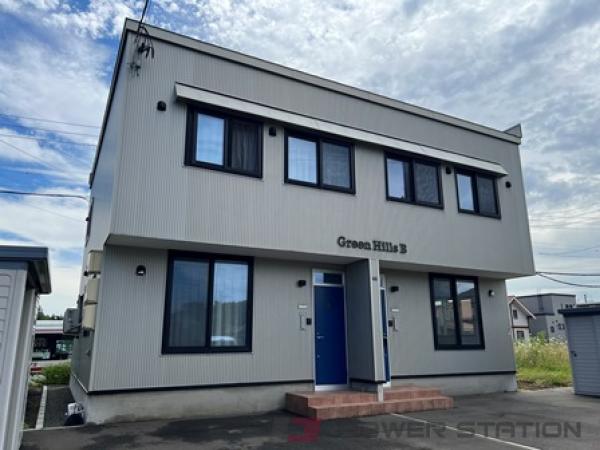 札幌市清田区里塚緑ヶ丘3丁目1テラスハウス外観写真