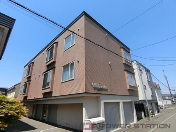 札幌市清田区美しが丘2条8丁目0賃貸アパート外観写真