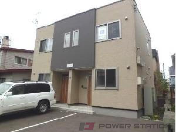 札幌市清田区北野4条5丁目0テラスハウス外観写真