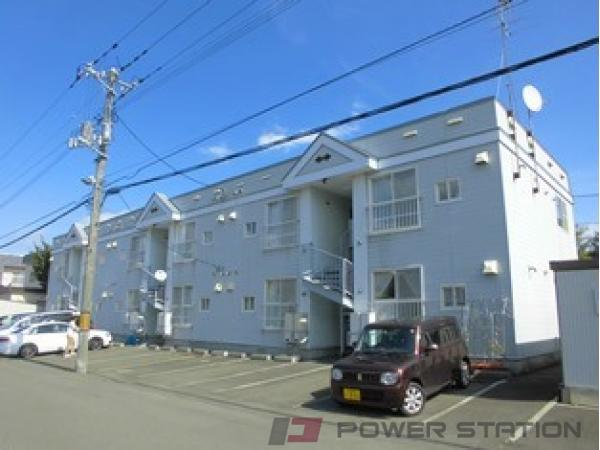 札幌市清田区北野6条1丁目0賃貸アパート外観写真