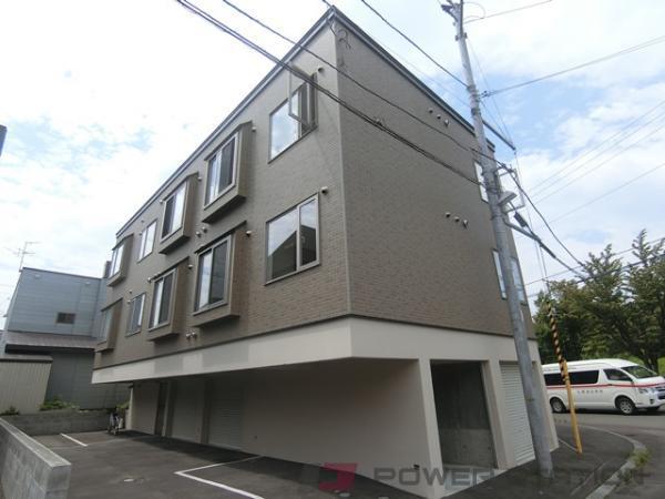 札幌市清田区真栄1条1丁目0賃貸アパート外観写真