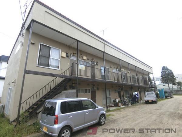札幌市清田区北野4条5丁目1賃貸アパート外観写真