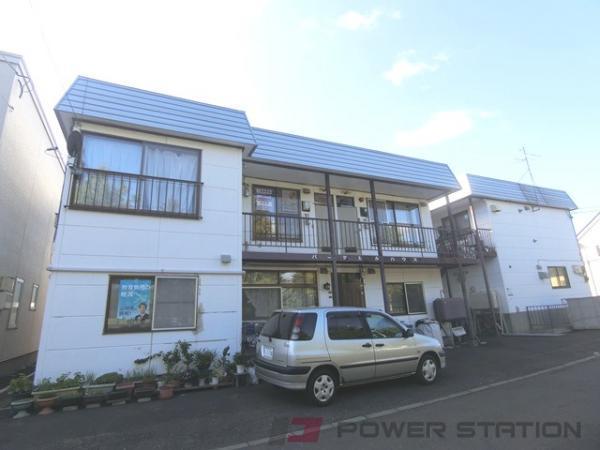 札幌市清田区平岡3条1丁目0賃貸アパート外観写真