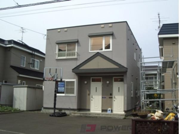 札幌市清田区清田8条1丁目0テラスハウス外観写真