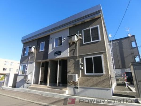 札幌市清田区平岡2条3丁目1賃貸アパート外観写真