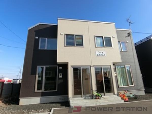 札幌市清田区北野6条1丁目0テラスハウス外観写真
