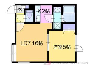 アパート・仮)真栄2-2アパート