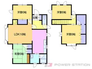 一戸建貸家・清田7-1小林邸貸家