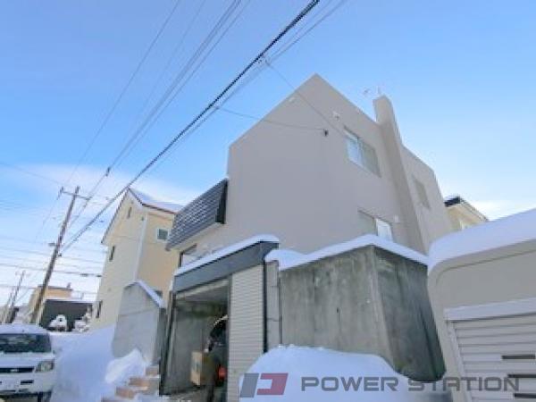 札幌市清田区里塚3条2丁目0一戸建貸家外観写真