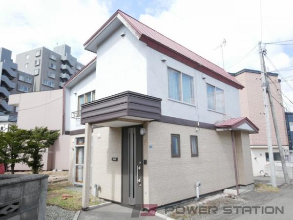 札幌市清田区清田2条2丁目1一戸建貸家外観写真