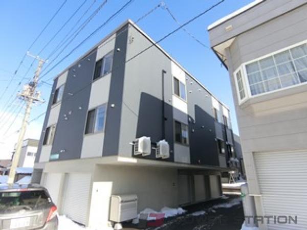 札幌市清田区美しが丘2条8丁目01賃貸アパート外観写真