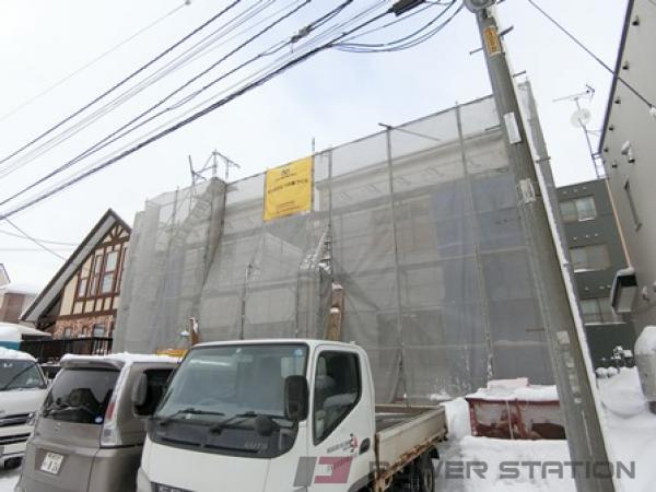 札幌市清田区北野3条5丁目01賃貸アパート外観写真