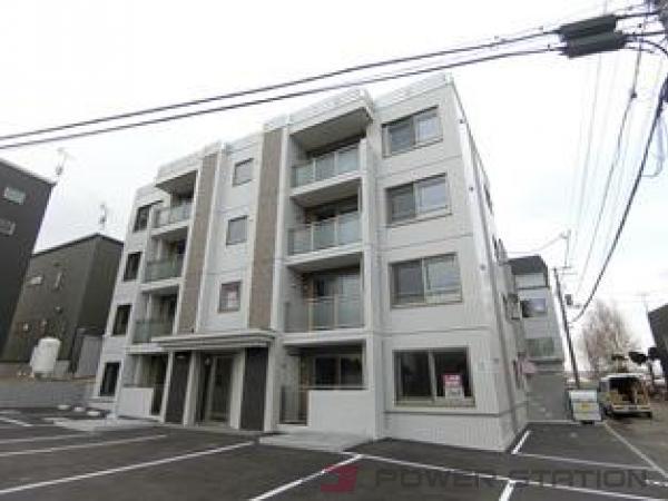 札幌市清田区美しが丘1条8丁目01賃貸マンション外観写真